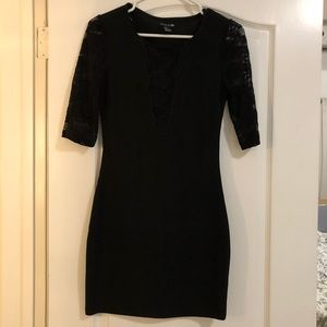 Lace 3/4 sleeve LBD